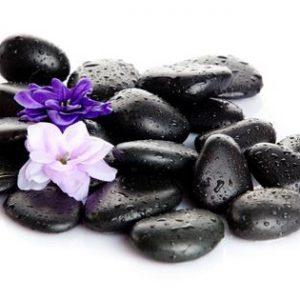 סט אבנים חמות לעיסוי